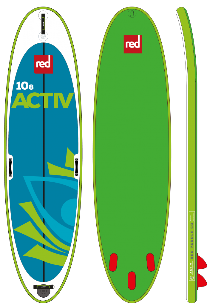 Red Paddle 10'8 activ yoga