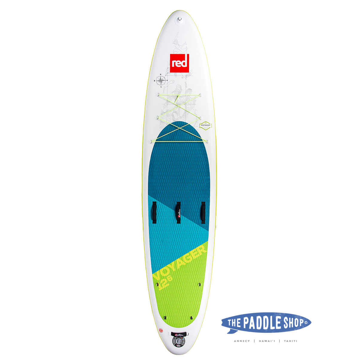 "Red Paddle 12'6"" Voyager"
