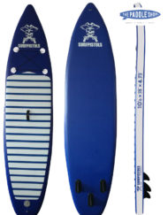 pack paddle 10'6 pagaie leash