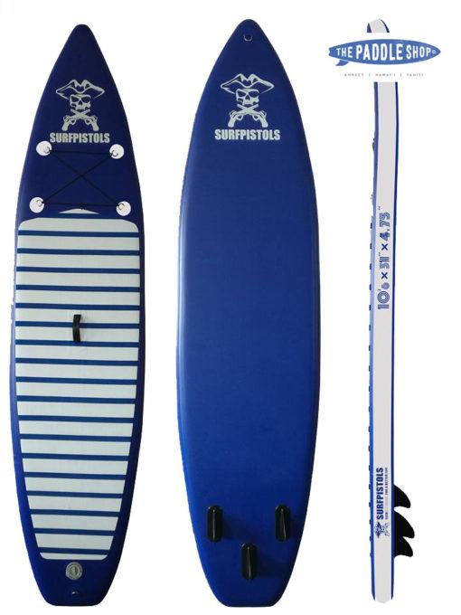pack paddle 10'6 pagaie leash