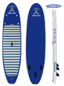 pack surfpistols 10' + pagaie + leash