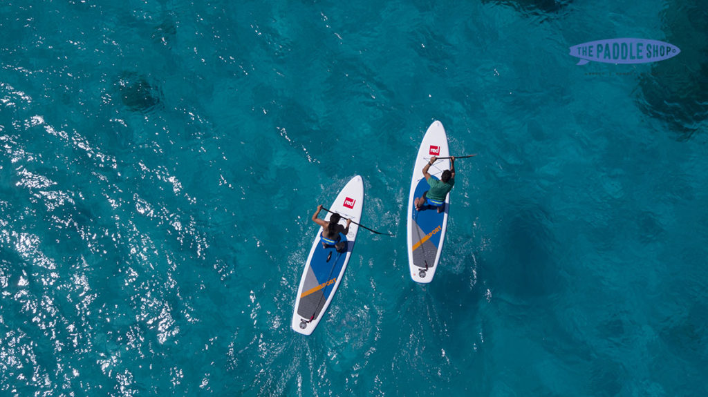 test gamme red paddle NCY SUP lac d'Annecy