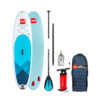 pack Red Paddle 10'6 + Pagaie Red Paddle 3 parties + leash + sac + pompe