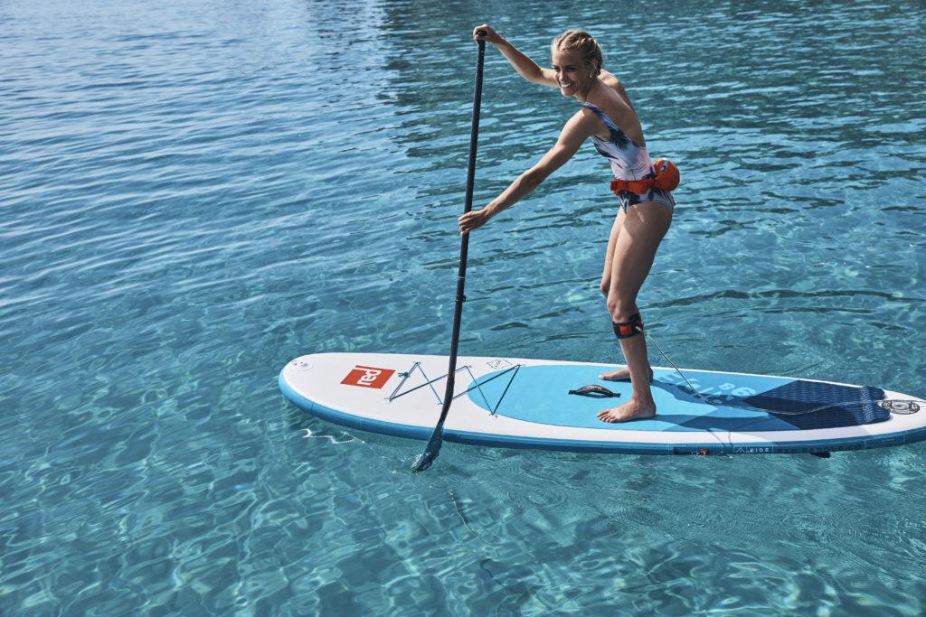 Red Paddle 10'- la référence du stand up paddle gonflable