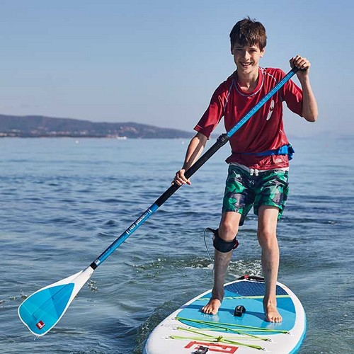 red paddle kiddy alloy pagaie