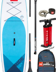 Pack Red Paddle 10'6 + Pagaie Carbon 50