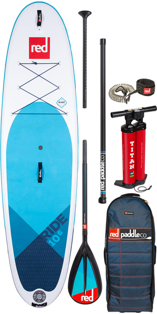 pack Red Paddle 11'3 sport pagaie carbon 50 nylon