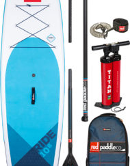 Pack Red Paddle 10'6 Pagaie Carbon 50 Nylon
