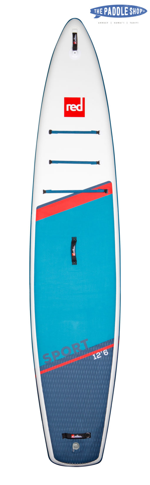 Red Paddle 12'6 sport 2021 dessus