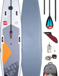 pack red paddle elite 12'6 et pagaie carbon 50