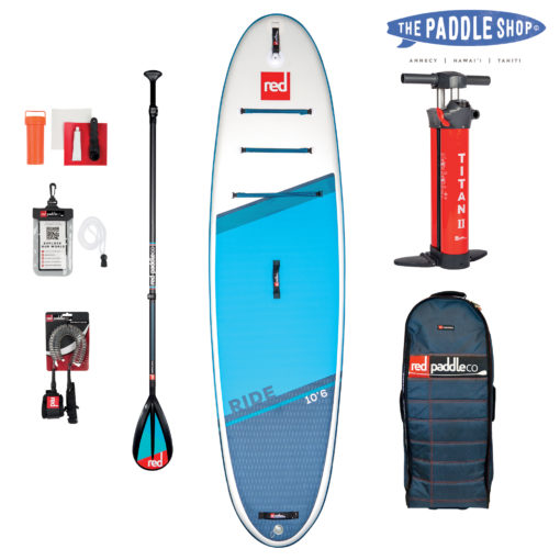 Pack Red Paddle 10'6 Ride pagaie carbon 50 Nylon
