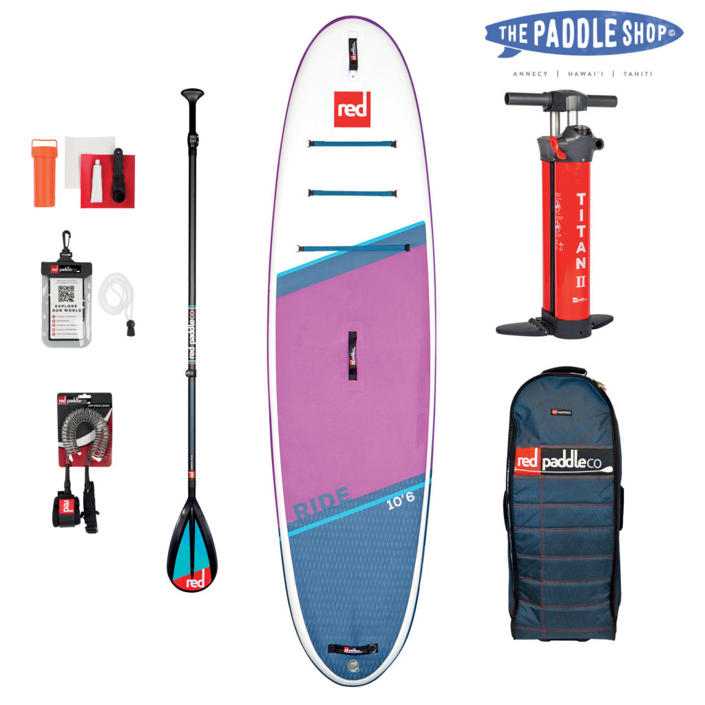 Red paddle Ride 10'6 SE 2021