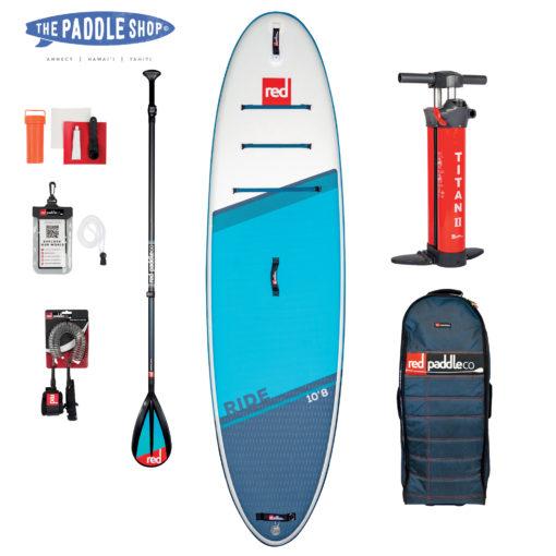 Pack 10'8 Ride Pagaie Carbon 50 N
