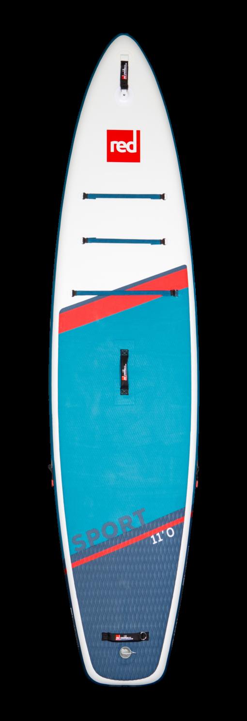 Red Paddle 11' sport 2021 vue de face