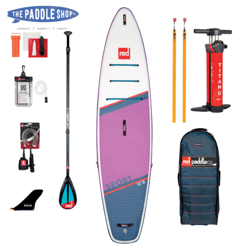 pack Red Paddle 11'3 SE