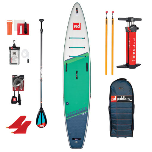 pack red paddle 13'2 voyager avec pagaie carbon 50 Nylon