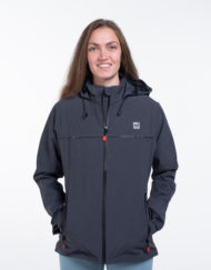 Veste technique étanche femme active jacket red original