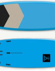 SURFPISTOLS FLYING MACHINE 155L EPOXY /WING/SUP 2021