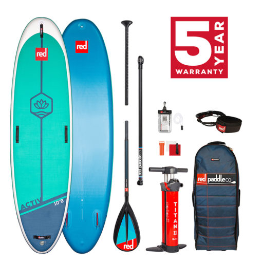 Pack Red Paddle Activ Pagaie carbon 50 nylon